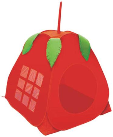 Учёными давно подмечен факт, что ребёнок чувствует себя психологически более защищённым...  Детская палатка-яблоко.