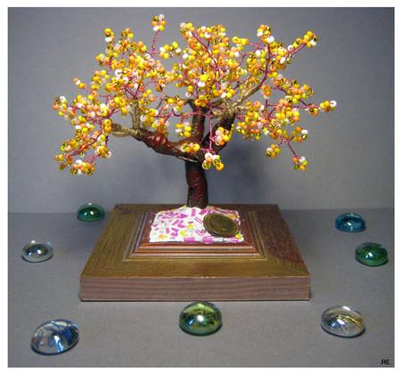 Бисирное денежное деревце денежное деревце из бисера схемы.