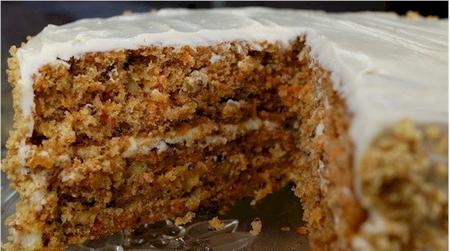 кекс из моркови рецепт с фото