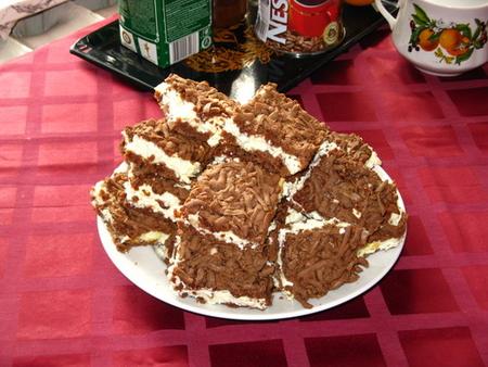 Улыбка негра торт с творогом рецепт пошагово