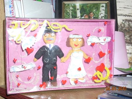 Подарок на свадьбу бабушке и дедушке своими руками на 51