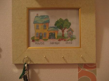 Мой домик-ключница из ВК:)