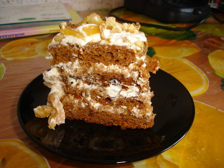 рецепт торта трухлявый пень с вареньем