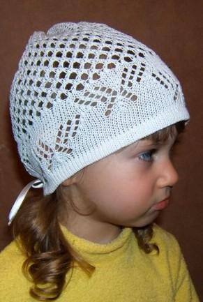 Летние шапочки детям