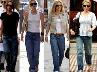 Модные джинсы: 6 способов стильных подворотов