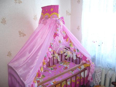 балдахин на детскую кроватку выкройка