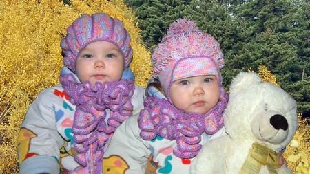 Вязание шарф для девочки на осень 788