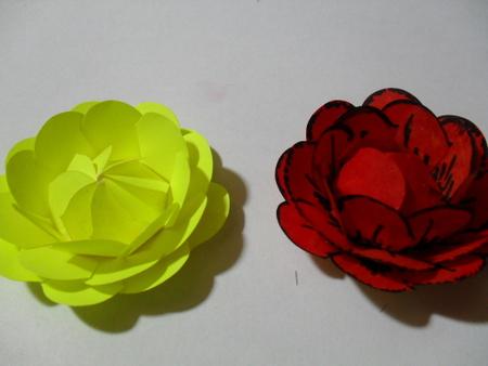 можно изготовить розы