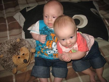 Поздравления для двойняшек с юмором фото 428