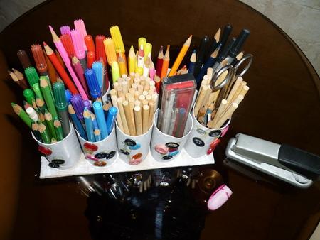 Как сделать держателей карандашей 318