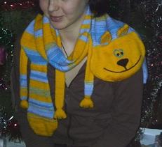 Какой шарф лучше связать мальчику