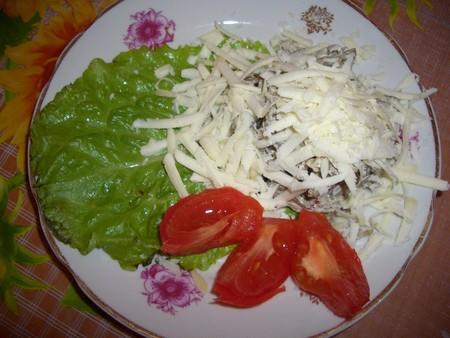 Салаты с мясом рецепты с фото порционные
