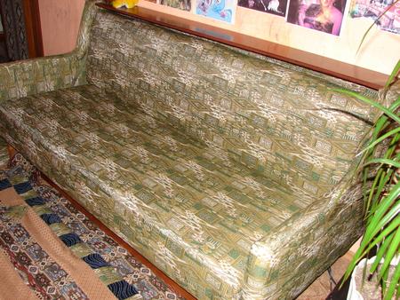Плед на старый диван своими руками 98