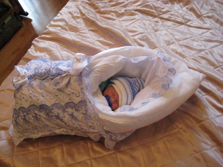 Как пеленать новорожденного на выписку