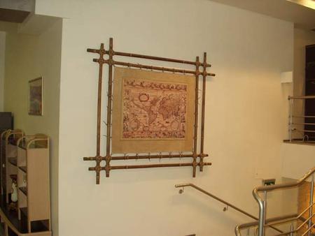 """Рамка в китайском стиле с бамбуком """" ProstoDelkino.com - поделки своими руками."""