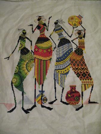 Африканочки подружки.