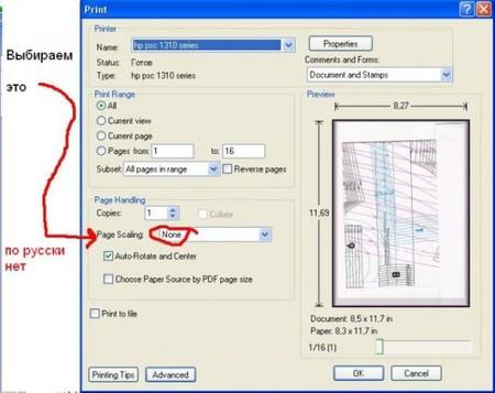 как напечатать без полей фото