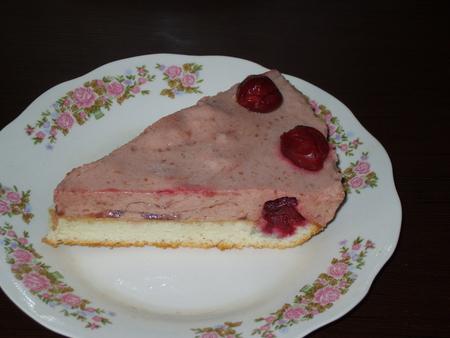 Торт дамские пальчики пошаговый рецепт с с вишней