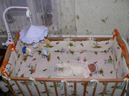 Как сшить бортики в детскую кроватку своими руками