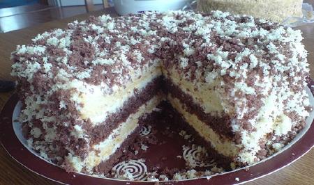 Лохматый торт рецепт