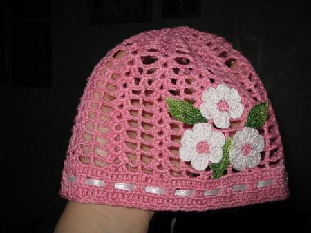 Мастер класс по вязанию шапочки для девочек 7 лет