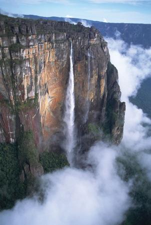Анхель salto angel самый высокий в мире