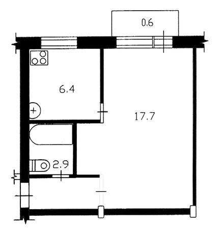 Кухня в хрущевке 6 кв.м дизайн с холодильником и газовой колонкой