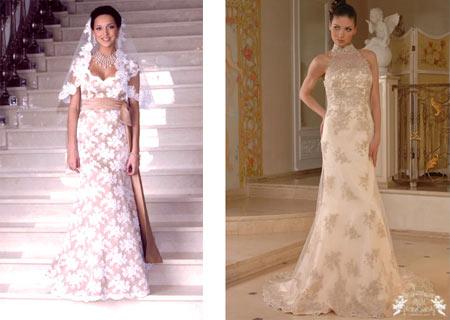 Венчальные платья фото