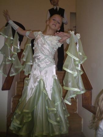 выкройки детских бальных платьев для