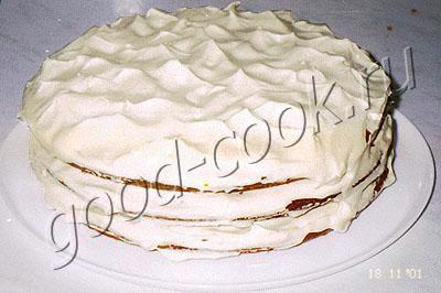 Торт из детской смеси рецепт пошагово