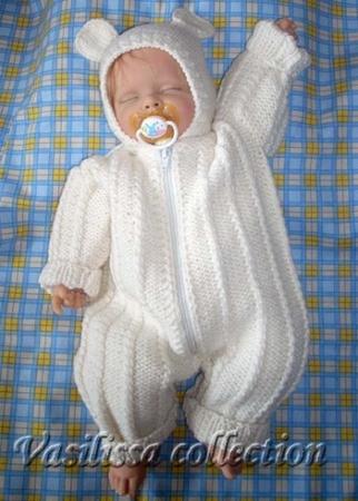 вязание для грудничков со схемой