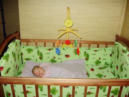 Обустраиваем детскую кроватку своими руками 61