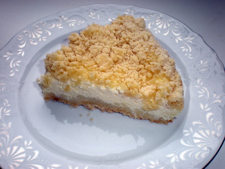 Пирог творожный тесто крошка