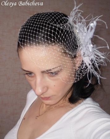Вуаль для шляпок своими руками фото 287