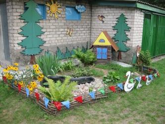 Дизайн для участка детского сада своими руками
