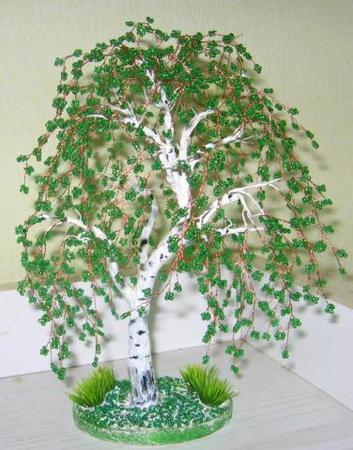 Как сделать дерево березы