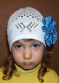 Летние шапочки для девочек и мальчиков - Вязаные вещи для Ваших