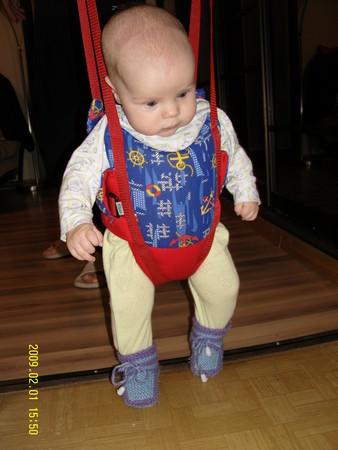 Как сажать ребенка в прыгунки 27
