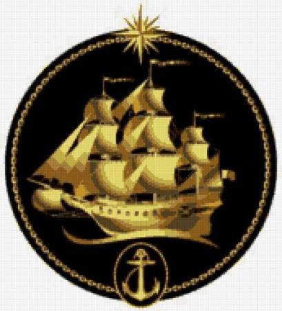 День флота уже на носу а у меня нижний угол белый не вышит.  Вышивка для папы на день ВМФ.  Как подписать( вышить) .