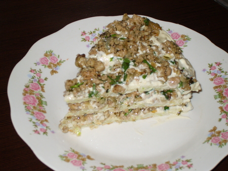 Капустный торт с фаршем рецепт с фото