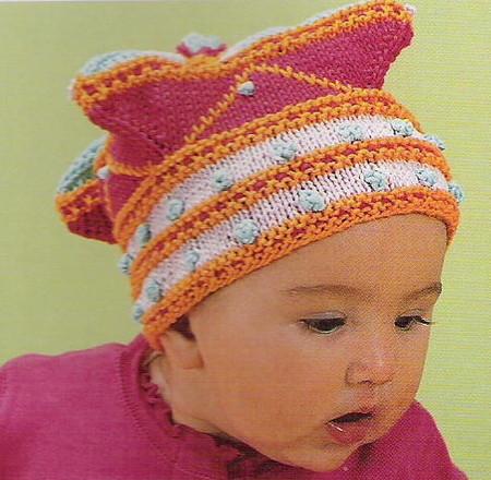 Вязание для детей беретки