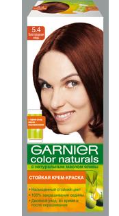 Краска темный медный цвет волос