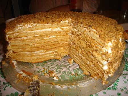 Торт рыжик рецепт без