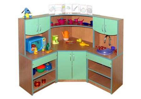 игровая мебель для детских садов кухня