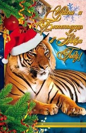 Сценарий поздравление с годом тигра фото 482