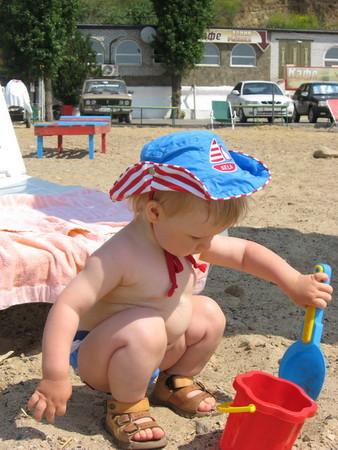 На пляже фоткаю попы 8