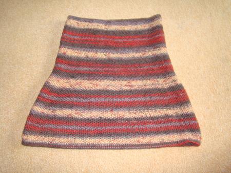 Этот причудливый шарф.  Вязанный снуд модный хит этой осени и зимы.
