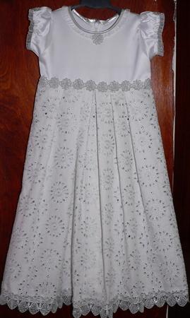 Как сшить крестильное платье для девочки - Выкройка