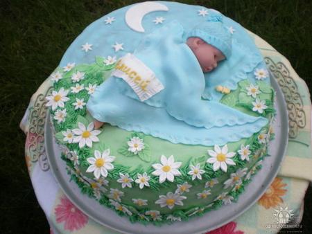 Торты для новорожденных фото