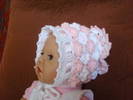 крючком схема зайца, Описание: вязание чепчиков спицами для новорожденных.